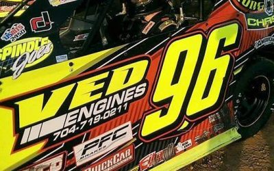 Joe DeGracia Battles At Stafford For Second Hoosier Most Improved Driver Award